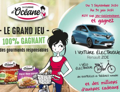 Océane organise le Grand Jeu des Gourmands Responsables !