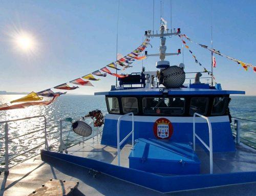 La Belle Alliance baptise ses deux nouveaux bateaux de pêche